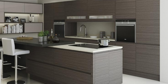 Isala modern kitchen range