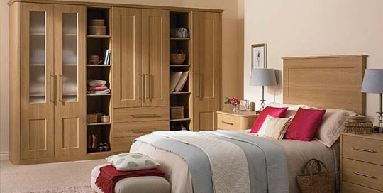 Light Oak bedroom