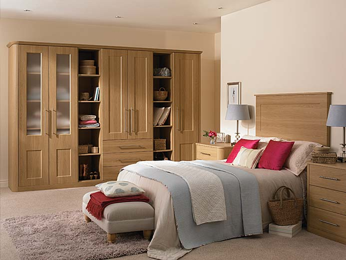 Light Oak bedroom