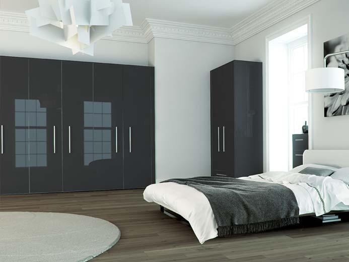 zurfiz metallic anthracite bedroom range